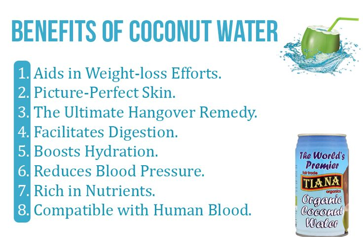 There Are 8 Benefits Of Coconut Water That Have Made It An