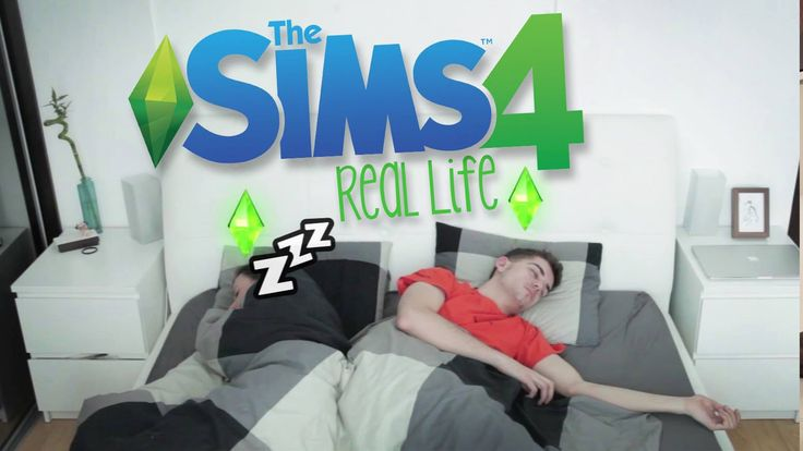 THE SIMS 4 IN REAL LIFE! - SKETCH