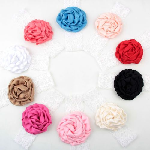 >> Click to Buy << 1 x Lovely Girls Lace Rose Flower Headband Wide Band Hairband Soft Elastic Hair Band Headwear Accessories 7 colors #Affiliate