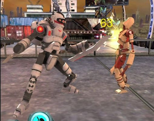 Smash Robots is a Free Android Action Fighting Game featuring devastating combos abilities and special modern moves in the campaign mode