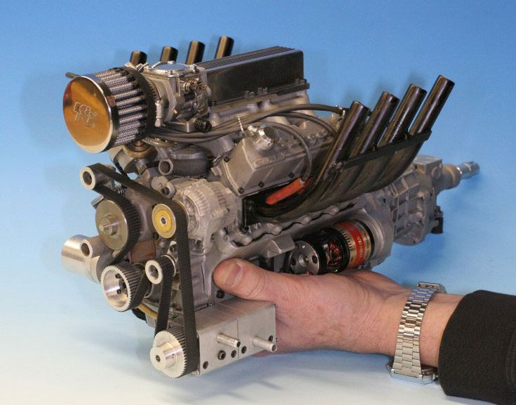 Conley52.jpg (765×600)The Stinger 609 is based on modified and reclaimed molds for the scaled down Viper V-10, sharing a high performance lineage with one of the world's most famous sports car engines. Shown here is the prototype version with front-facing air cleaner.