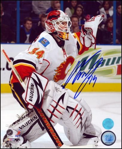 Miikka Kiprusoff Autographed 8x10 Photograph - Sports Memorabilia