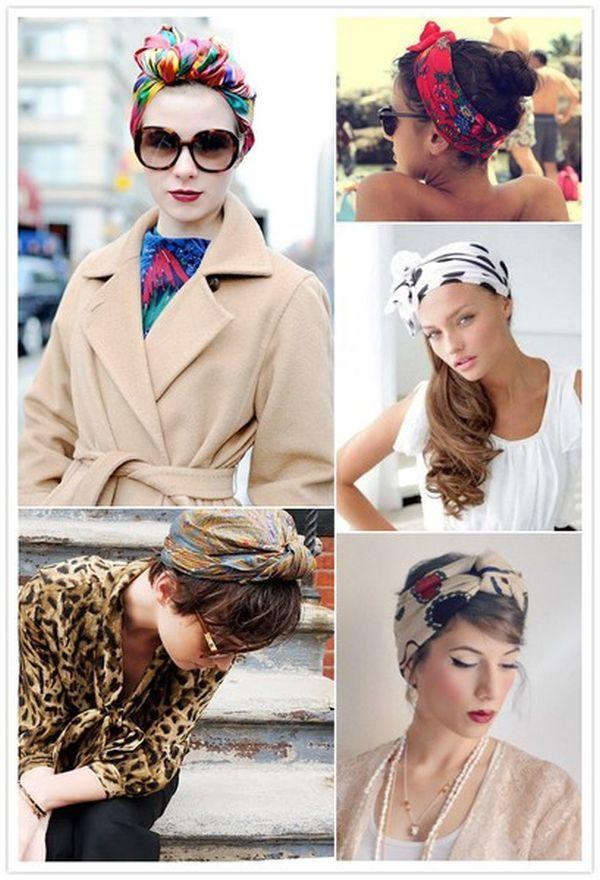 headscarf12 Hair Scarf Styles