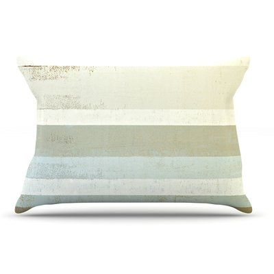 East Urban Home CarolLynn Tice 'Invent' Neutral Pillow Case