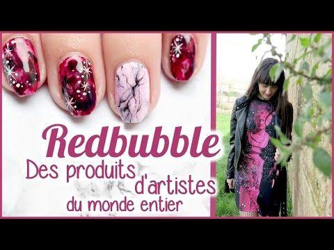 Beleza e Fantasia: �� REDBUBBLE découverte, nail art et tenue  -  CHE...