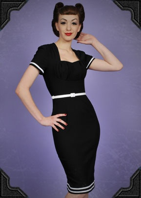 Military Pinup Dress - Deadly is the female