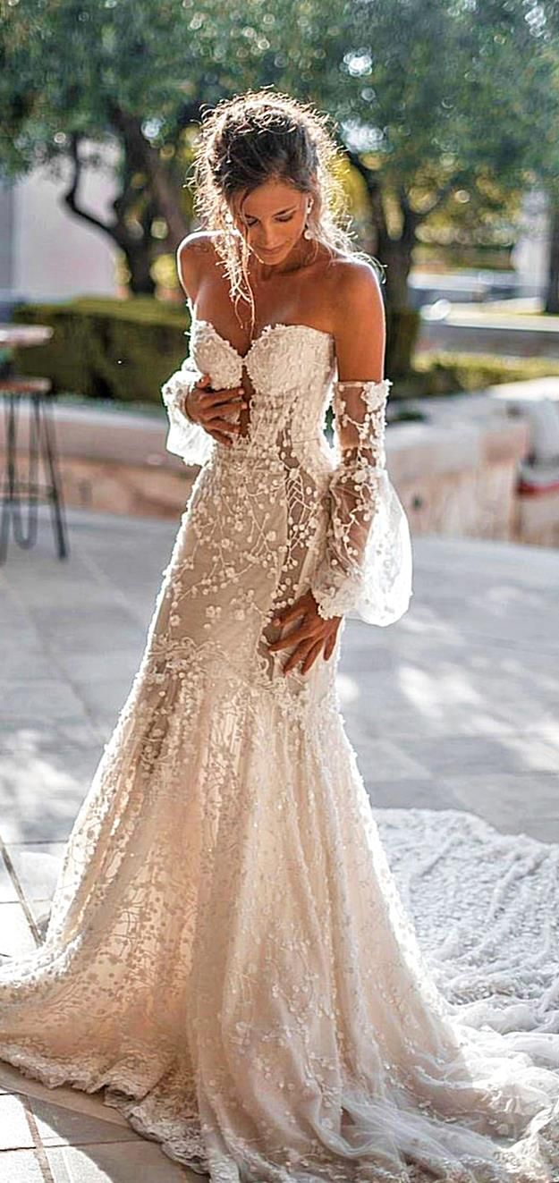 So You Must Also Think About Beautiful And Delicate Summer Wedding Dresses Th Beach Wedding Dresses Backless Wedding Dresses Lace Simple Wedding Dress Country [ 1323 x 625 Pixel ]