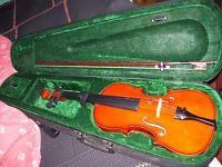 """vendo violin de estudio marca """"lazer"""" con funda rigida"""