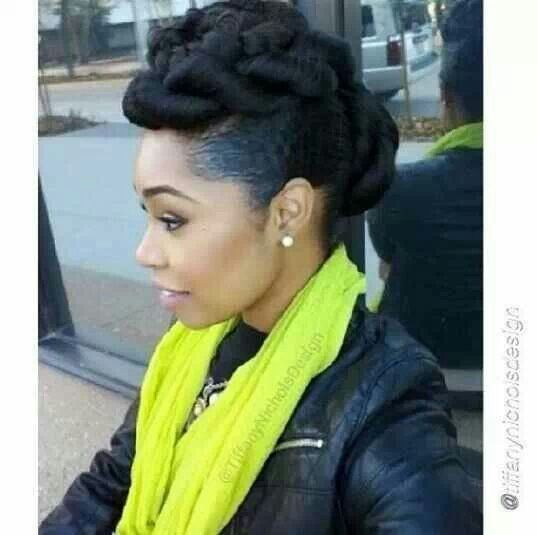 69 best natural hairstyles images on pinterest hairstyles black updo pmusecretfo Image collections