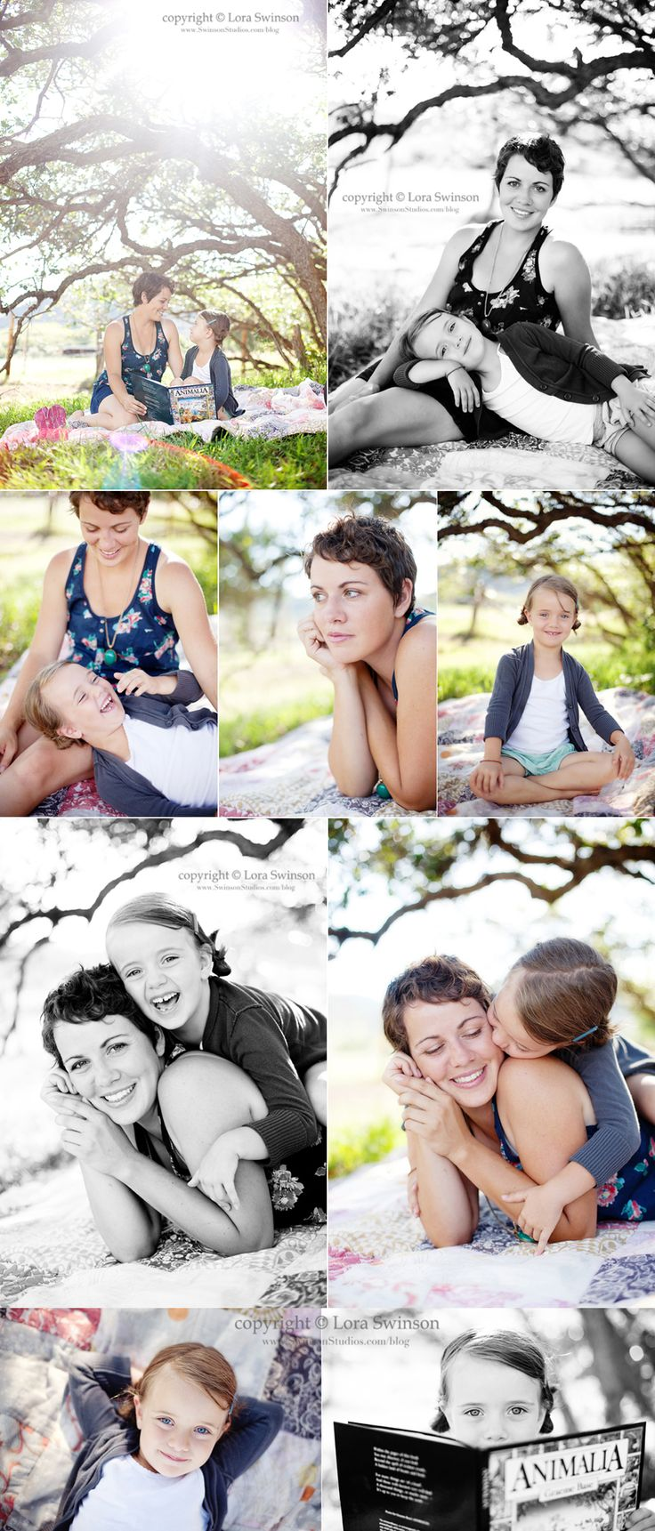 Love this Mommy & Me session from Swinson Studios