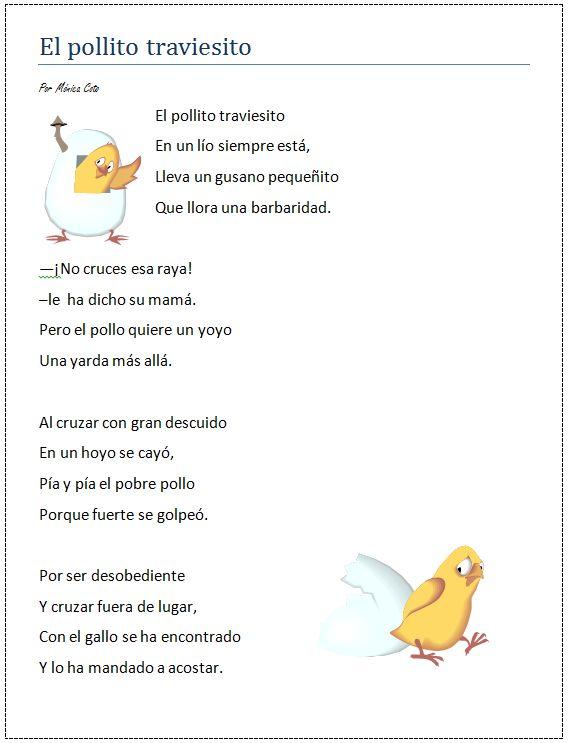 Poemas Con Aliteracion Para Ninos