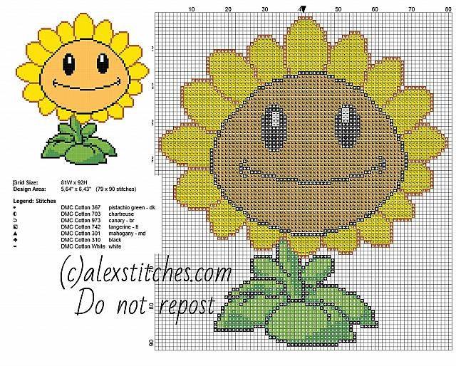 Best images about cross stitch plants vs zombies on