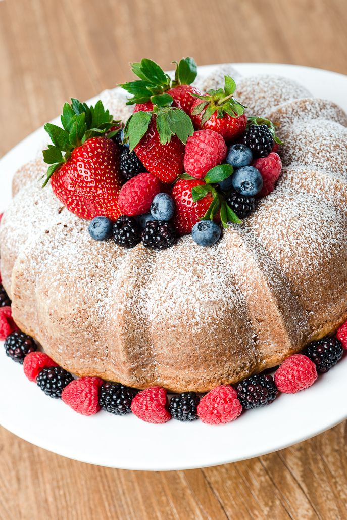 Heritage Dish: Whipped Cream Pound Cake featuring Annie Arnold - everydaygoodthinking / @Hamilton Beach