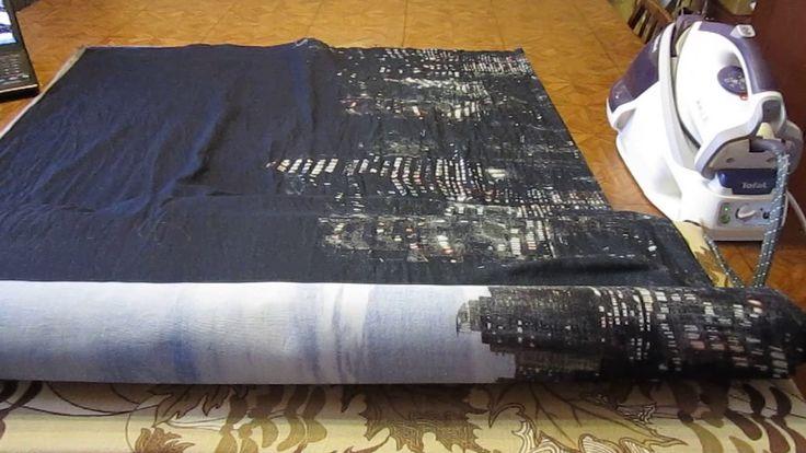 Как декатировать ткань перед пошивом постельного белья? НЕТ-  кривым под...