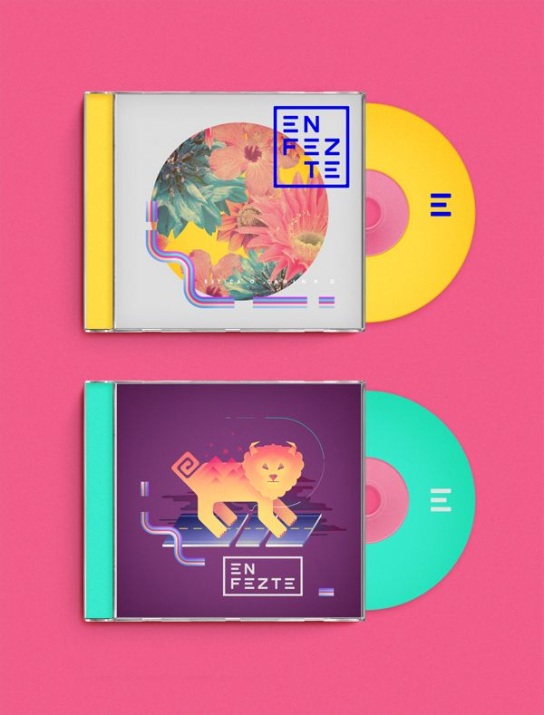 Enfezte by Diego Morales on Behance love the colors and images on this #CD #packaging PD