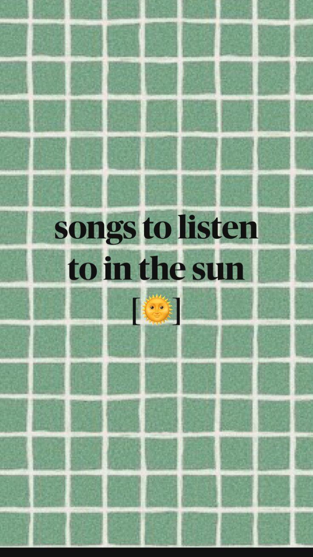 Summer Playlist, Summer Songs, Summer Fun List, Song Playlist, Summer Bucket, Music Mood, Mood Songs, I Love Music, New Music