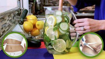 Se procura emagrecer e perder a sua barriga, esta bebida é uma combinação excelente para a resolução desse problema! Os ingredientes desta água contém