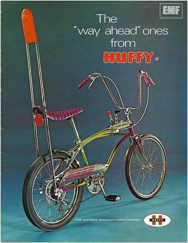 The Popular Bicycle Of The 80s The Chopper Bicycle Huffy
