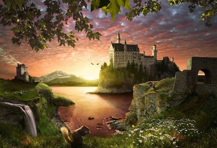 Fairytale, Tags and Castles on Pinterest Beautiful Fairy Tales Pictures
