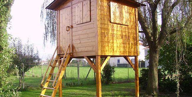 Come Costruire Una Palafitta In Legno Per Bambini Casetta