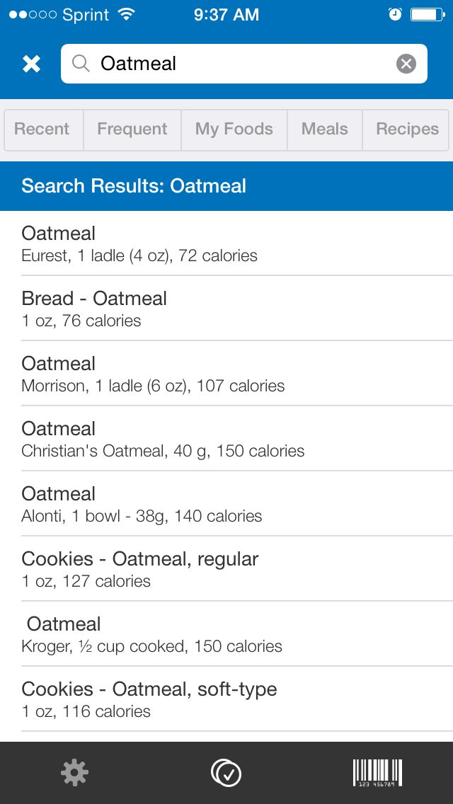 One of the best features of the MyFitnessPal app is its large, searchable nutrition database.<br />