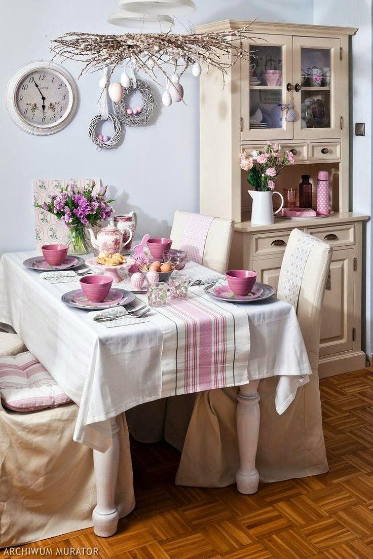 StrefaDom: Wiosenne dekoracje na wielkanoc.