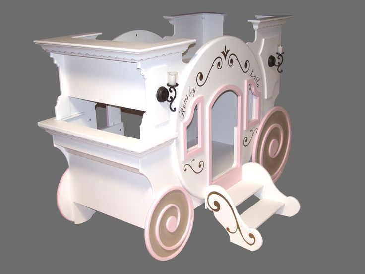Blueprints for the Cinderella Princess Carriage Bunk Bed with Loft -
