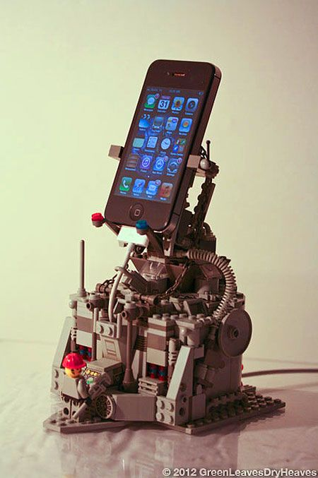 Incredible LEGO iPhone Dock Might be Coolest Ever Read more at http://www.techeblog.com/index.php/tech-gadget/incredible-lego-iphone-dock-might-be-coolest-ever#2bDmQkfoYE17j8ld.99