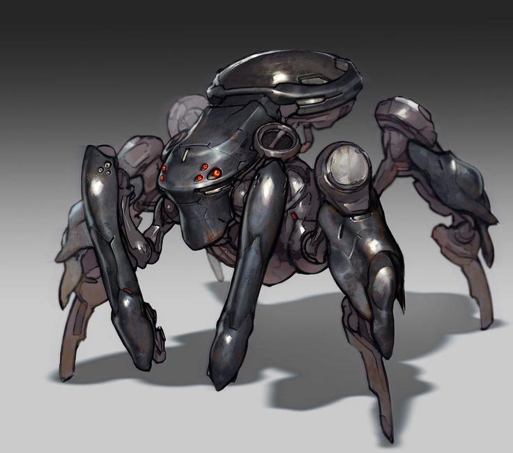 Die besten Spider robot Ideen auf Pinterest RoboterDesign