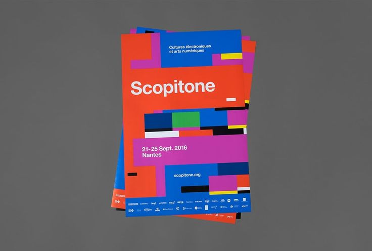 Scopitone Corporate Design by @Heystudio  http://mindsparklemag.com/design/scopitone-corporate-design/