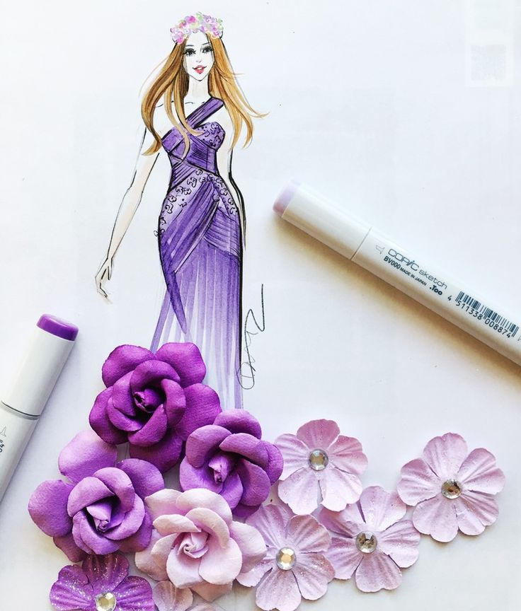 Spring fashion illustration by Rongrong DeVoe. more at www.rongrongdevoe.com