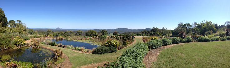 Enjoy the view from Maleny Botanical Gardens in the Sunshine Coast Hinterland