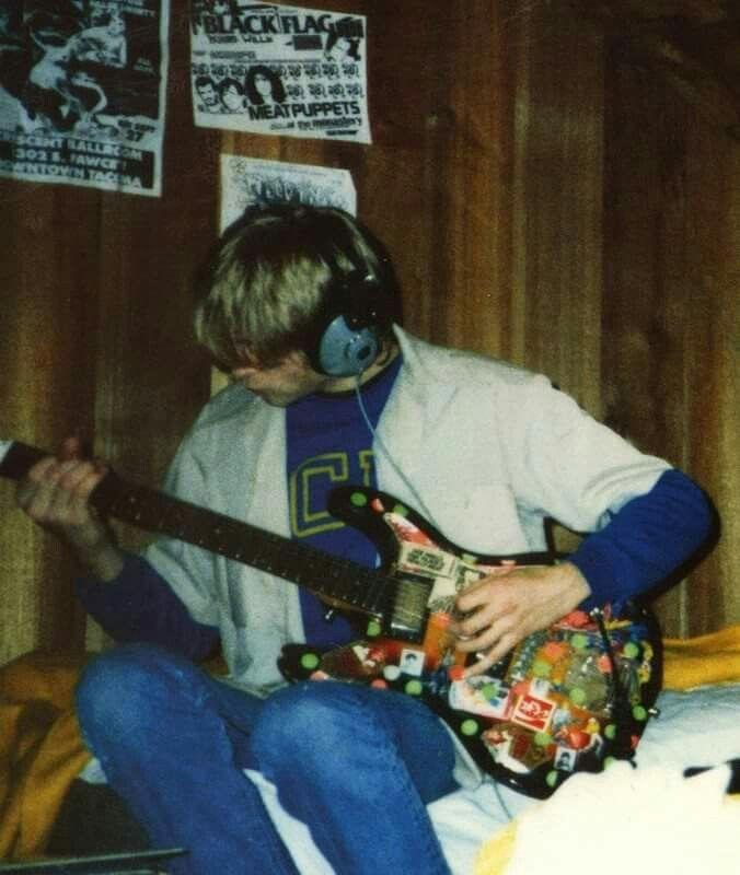 Kurt Cobain, before Nirvana.