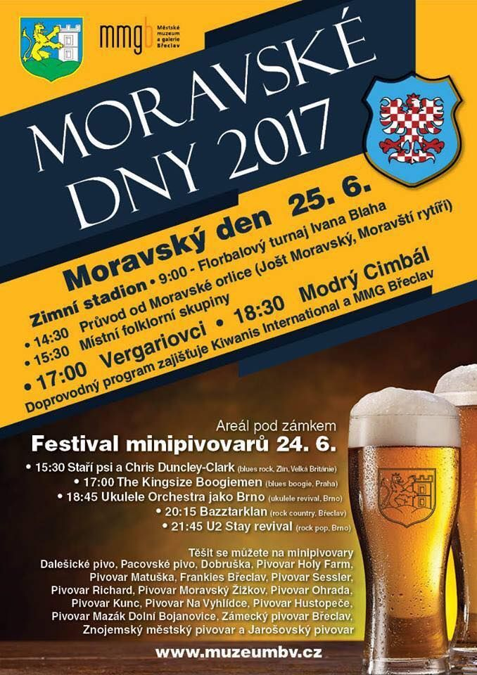 Beer festival in Břeclav 26th June 2017, if you can't make this, keep an eye on our website for other events.