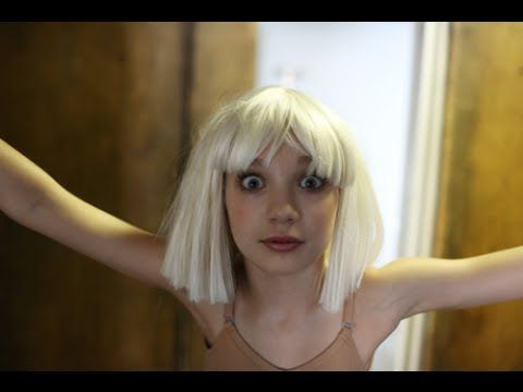 "Behind The Scenes Pics Of Sia's ""Chandelier"" Music Video :]"