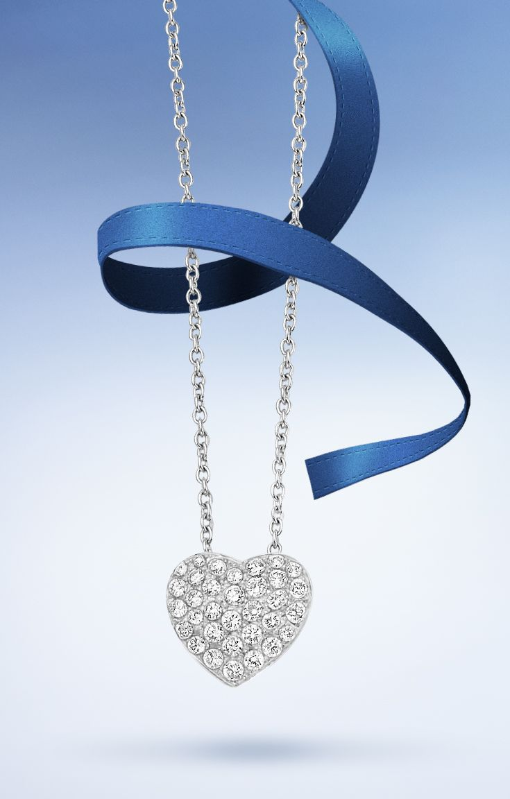 Make her heart skip a beat with #Bucherer diamonds pendant #ThisIsForLove