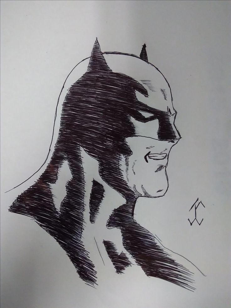 ComicBatman03 #batman #comic #drawing #draw #pen #art #comicdc #movie #brunodiaz #justiceligue