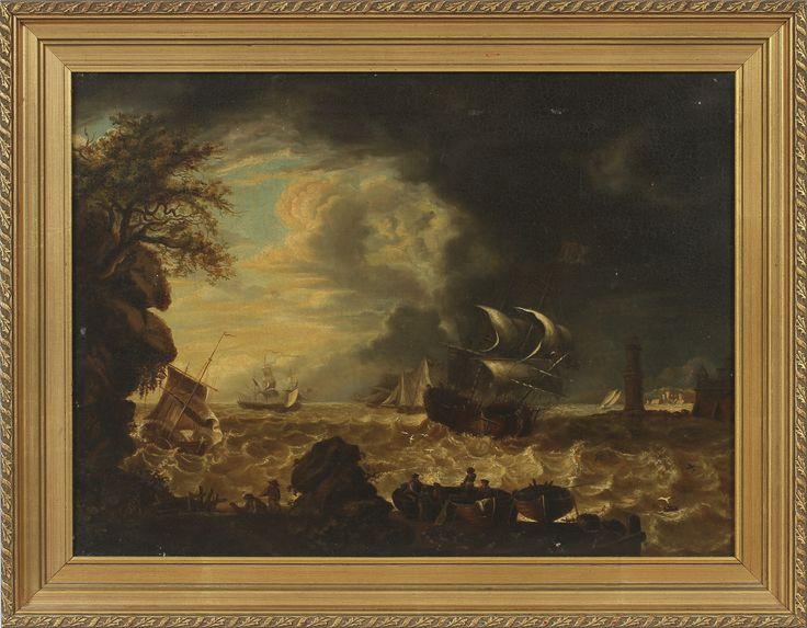 ALBERT THEOPHILUS KJELLBERG. Olja på duk, copia efter kopparstick av Vernet. 1831.