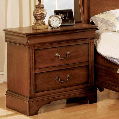 Winners Only, Inc. Renaissance 2 Drawer Nightstand U0026 Reviews | Wayfair