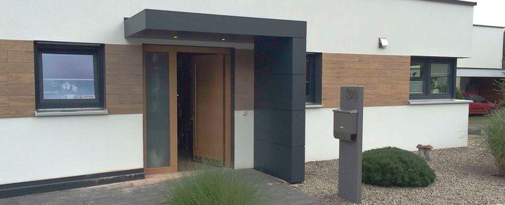Haustürüberdachung, Vordach von Siebau