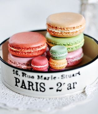 macarons in paris:
