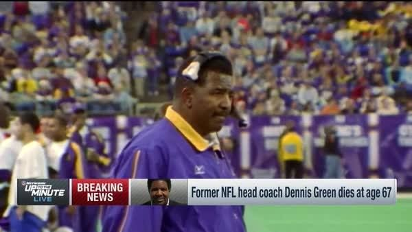 """Denny Green is the best coach I've ever known with regards to an eye for talent.""  Brian Billick remembers a friend, and fellow coach, in Dennis Green."
