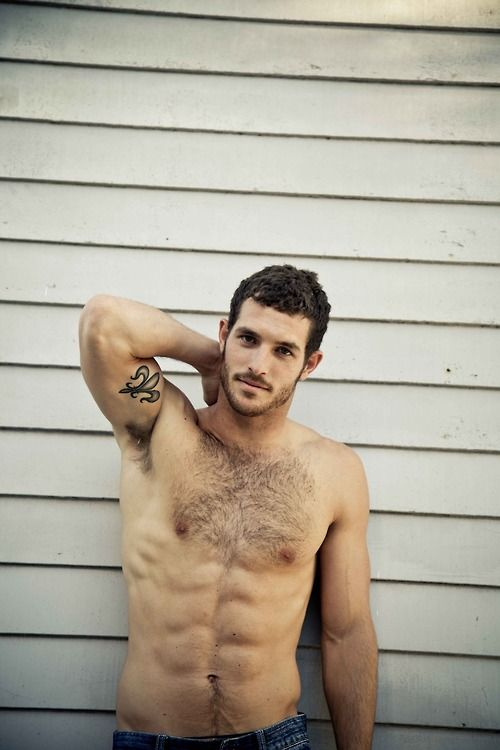 Rugged manly men. I don't need the 6 pack, but a lil hair never hurt anybody