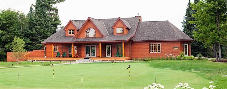 Colonial Concepts Log & Timberframe - North Granite Ridge Golf Course