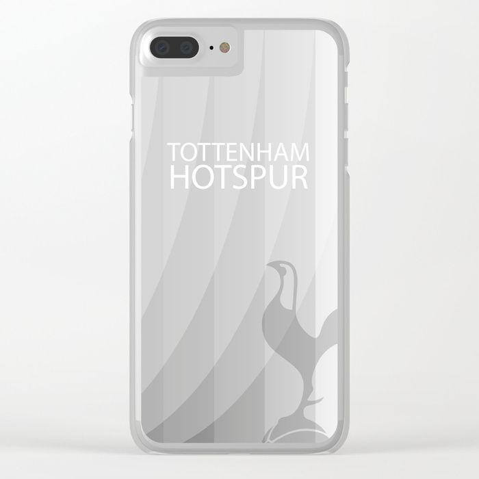 Tottenham Hotspur Clear iPhone Case