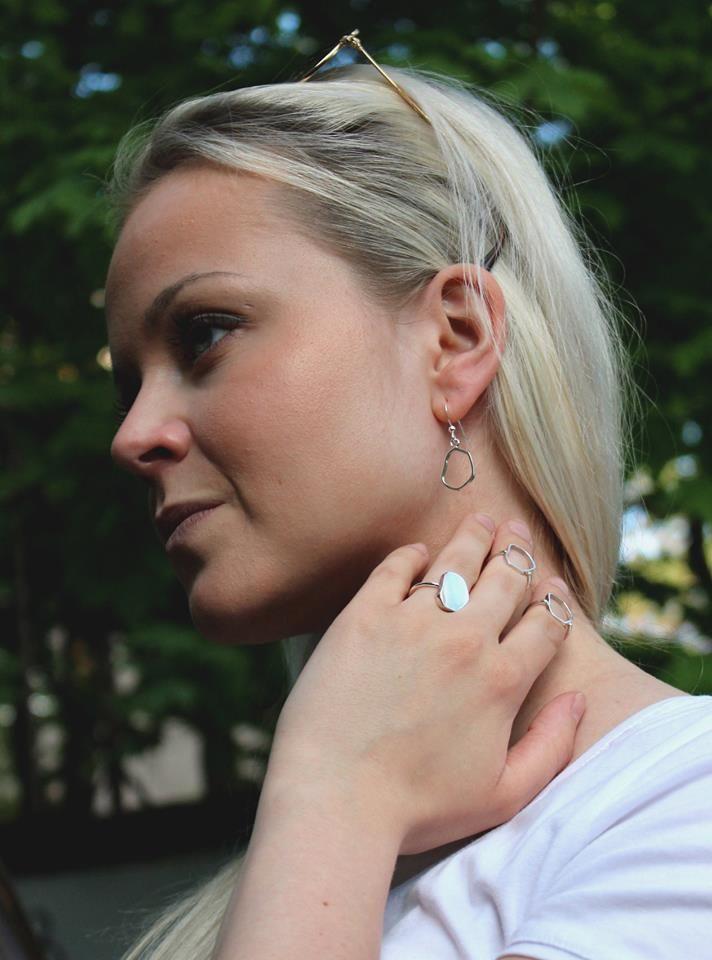 Kenno Collection/ Mirka Laine #collection #jewellery #jewelry #design #rings #silver #mirkalainedesign #finnishdesign #scandinaviandesign