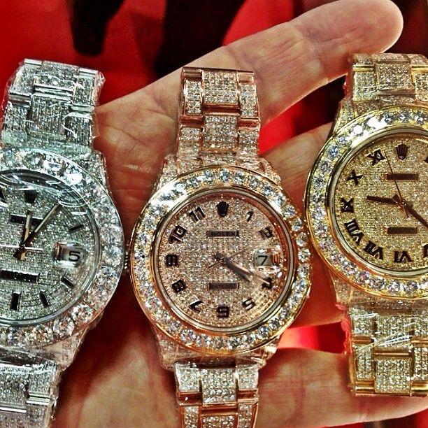 Meek Mill Rolex Watch Collection Splash