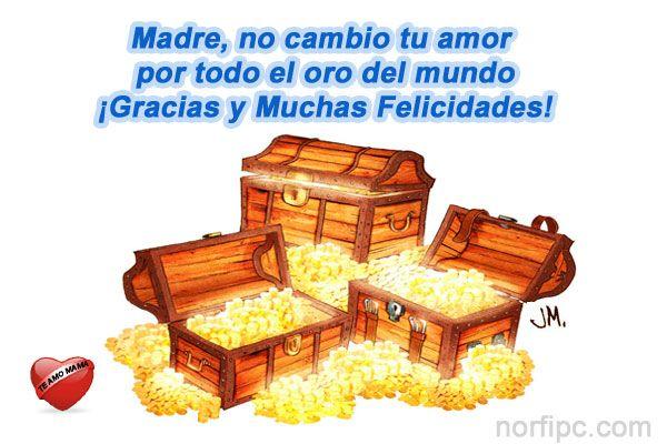 Madre no cambio tu amor por todo el oro del mundo