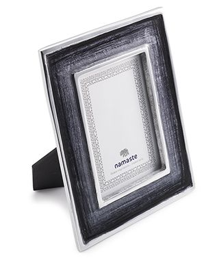 Fairtrade Recycled Aluminium Grey Photo Frame £16.00