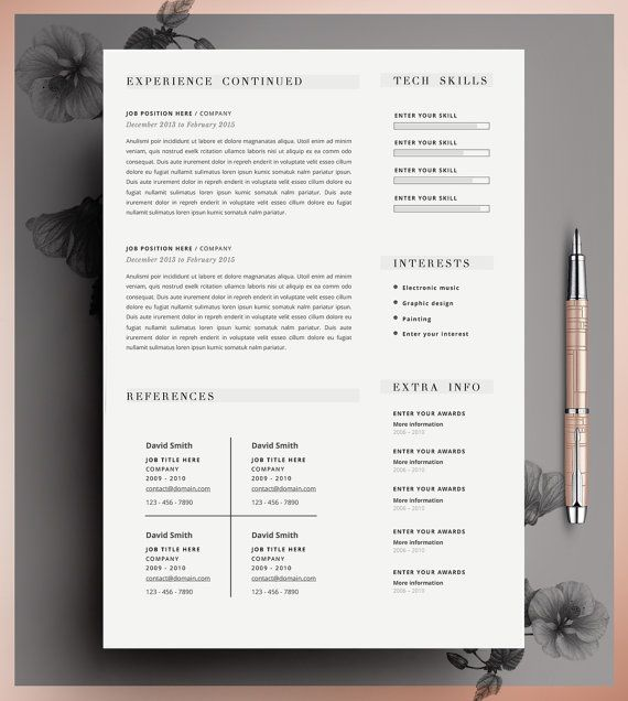 53 best curriculum vitae images on Pinterest Resume cv, Plants - absolutely free resume builder